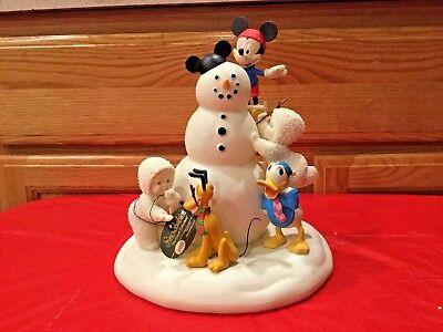 """Department 56 Snowbabies """"The Guest Collecttion """"Making Snowfriends"""" RETIRED"""