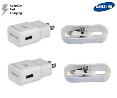OEM Fast Rapid Wall Charger 5 Ft Cable For Samsung Galaxy S6 S7 Edge Note4 Note