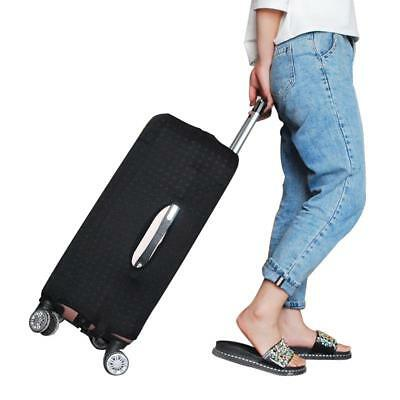 Luggage Protective Cover Black Rivet Men S Elastic Suitcase Travel Case Trolley