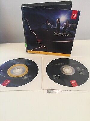 Adobe Creative Suite CS6 Production Premium - Mac- Full Retail License