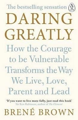 NEW Daring Greatly By Brene Brown Paperback Free Shipping