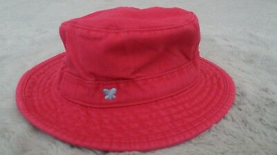 Baby Girls Pink Sun/Summer Hat (0-6 Months) - By Old Navy