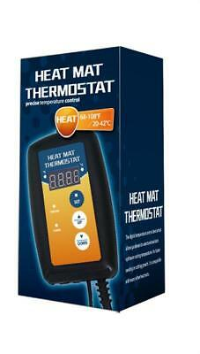 Heat seed mat thermostat Hydroponics, reptiles precision control UK SELLER