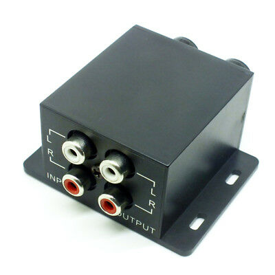 Universal Car Remote Amplifier Equalizer Subwoofer Crossover Bass RAC Controller