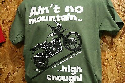 ROYAL ENFIELD Himalayan T Shirt - For Adventure Bike Riders Everywhere!