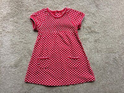 Sprout dress girls size 2 red