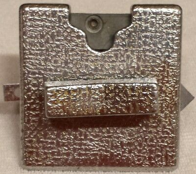 (1) Chrome Coin Mechanism, the one used on many brands of Candy Gumball Machines
