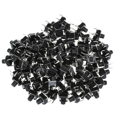 10pcs 6x6x8mm Tactile Tact Push Button Micro Switch Momentary UK