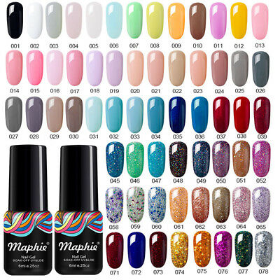 Maphie Serie Colore Nudo Smalto Gel UV LED Nail Polish Manicure Semipermanente