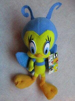 Warner Bros Looney Tunes Tweety Bird Plush Blue Butterfly