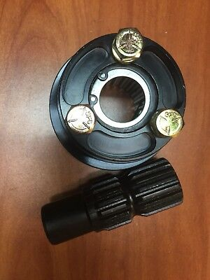 Quick Release Steering Wheel Hub Disconnect Splined  360 Pull Ring New