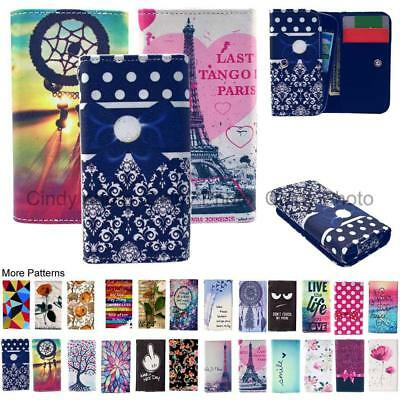 For ZTE A530 A606 Wallet Bag Flip Wear-resistant PU Leather Case Cover Rose Tree