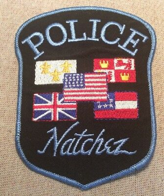 MS Natchez Mississippi Police Patch