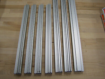 """80//20 Inc 1/""""x1/"""" Quick Frame Tube Right Angle Double Twin Flange #9030 x 72/"""" N"""