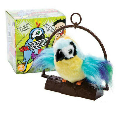 Insulting Swearing Polly Parrot Fun Cheeky Rude Adult Novelty Gift Toy