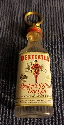 Beefeater Gin Bottle Keychain Key Ring