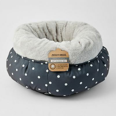 NEW Patch & Socks Cat Snuggle Bed