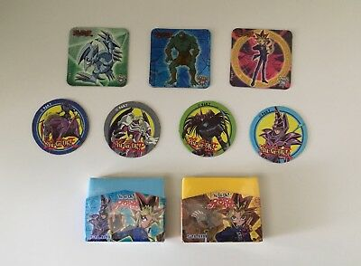 Yu-Gi-Oh YuGiOh Erasers and Magnets Lot