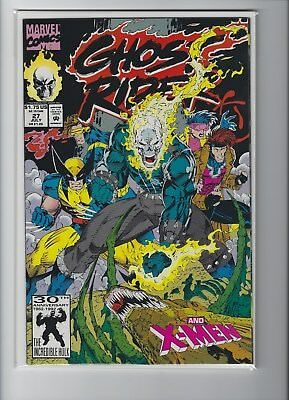 Ghost Rider (2nd Series) #27 1992 Marvel, Jim Lee cover art 9.2 to 9.4