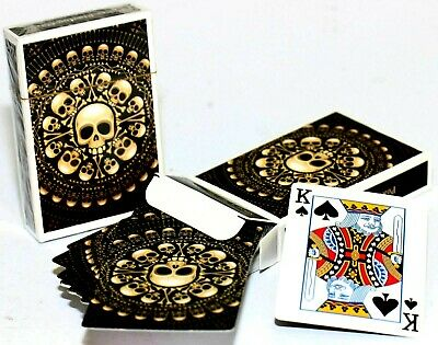 Contraband Premium Playing Cards Poker Games Set Skull Gothic Theme Bones ghost