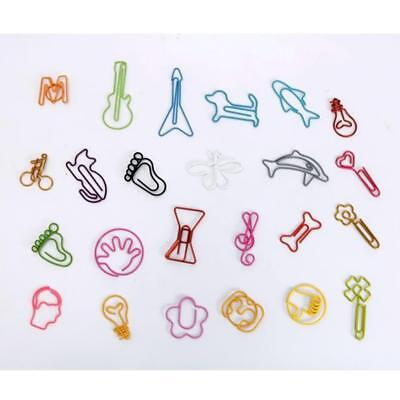 30pcs/lot Cute Cartoon Animal Shape Paper Clips Creative Interesting_Clip