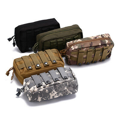 tactical molle belt pouch military bag magazine waterproof waist pack bags STDE