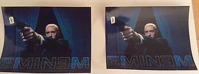 2x eminem official stickers.