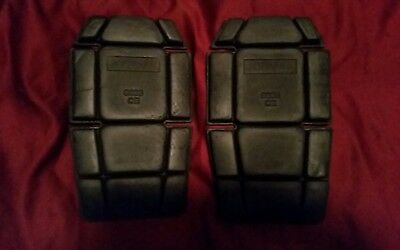 2 x Knee Inserts Foam Pads Protectors | Safety Work Trousers Kneepad Protection