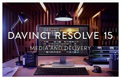 Blackmagic Design Davinci Resolve Studio 15 dongle for MAC PC multi-language