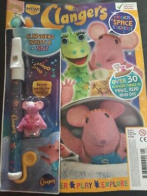 Cbeebies Clangers Magazine Issue #1 ~ New  With Gifts ~