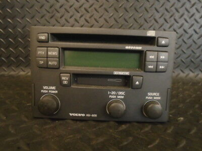 VOLVO V40 2003 Cd Radio Cassette Head Unit Stereo 30623159