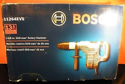 "BOSCH 11264EVS 1-5/8"" SDS-max ROTARY HAMMER NEW IN BOX"