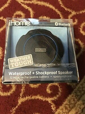 iHome Waterproof Bluetooth Speaker, New Other, Fast Free Shipping