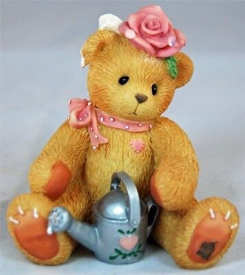 Rose #202886 - Everything's Coming Up Roses ENESCO CHERISHED TEDDIES FIGURINE
