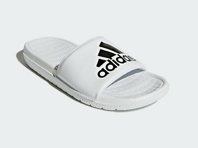 0452ab251d1b61 New Adidas Men s Voloomix Graphic Sandals Slides ~ Size Us 9 ~  cp9447 White