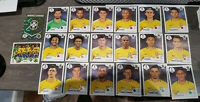678cf9ca1 Non-Sport Trading Cards Panini World Cup 2018 Russia Sealed Update Set with  100 Stickers Brazil Version