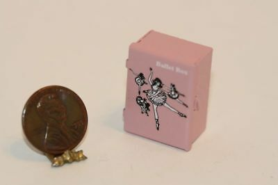 Dollhouse Miniature Pink Ballerina Box by Multi Minis