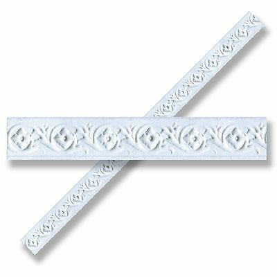 Dollhouse Miniature Faux Plaster Ceiling/Wall Trim Molding by World Model