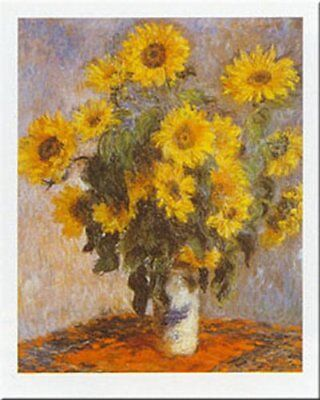 Sunflowers (Tournesols) by Claude Monet 20x16 Museum Art Print Poster