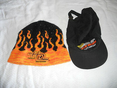 Harley Davidson Lot of 2 Hats Very Gently Used Free Shipping