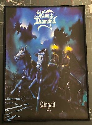 King Diamond Abigail Medium Printed Back Patch K018P Mercyful Fate Angel Witch