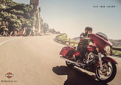 Harley-Davidson Live Your Legend Brand New Booklet & Sticker 66 Pages