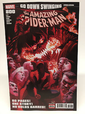 Amazing Spider-Man #800, NM, Alex Ross, Red Goblin, Venom, Marvel Flash Thompson