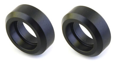 LOT of 2 Delrin Solid Roller for Extrusion Linear Motion CNC 3D Printer RepRap
