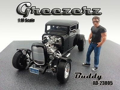 NEW FIGURINE! - BUDDY - Greezerz - 1/18 scale figure - AMERICAN DIORAMA