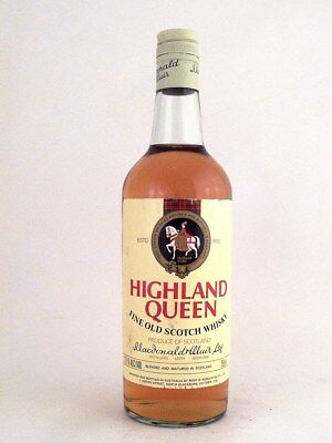 1989 circa NV HIGHLAND QUEEN Blended Scotch Whisky ISLE OF WINE
