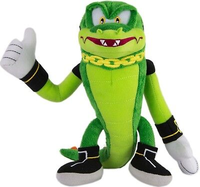"Sonic The Hedgehog Vector Plush 8"" Crocodile"