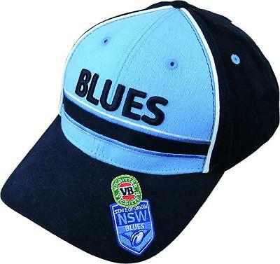 NSW New South Wales Blues State Of Origin Premium Conversion Baseball Cap/Hat!