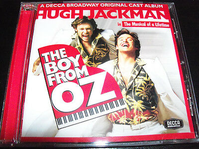 The Boy From OZ Hugh Jackman Soundtrack Musical CD - Like New