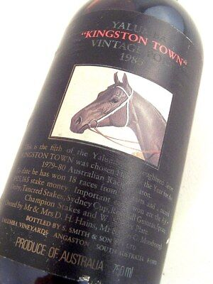 1980 YALUMBA KINGSTON TOWN Vintage Port #NN FREE SHIP ISLE OF WINE
